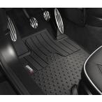"BMW MINI 純正 MINI フロアマット MINI R60(CROSSOVER) ラバーマット フロント用(左右) ""Cooper S""ロゴ"
