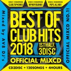 ������̵����MIXCD��BEST OF CLUB HITS 2018 -1st half- OFFICIAL MIXCD 3DISC���γ� Mix CD���γ� CD�ա�HIT-001���᡼����ľ���������ʡ�