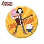 アドベンチャー・タイム 缶バッチ/LOVE MUSIC (75mm)マーセリン・バブルガムプリンセス Adventure Time