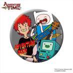 アドベンチャー・タイム 缶バッチ/ADVEVTURE ROCK A(75mm)「難波章浩」(Hi-STANDARD/NAMBA69)スペシャル限定コラボグッズ Adventure Time