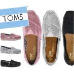 トムズ スリッポン グリッター TOMS SHOES CANVAS GLITTER レディース 靴