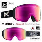 ANON アノン ASIAN FIT ゴーグル 2020 SYNC GOGGLE TRIP SONAR PINK