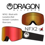 DRAGON ASIAN-FIT 2020 ドラゴン ゴーグル GOGGLE NFX2 BLACK RED LUMALENS