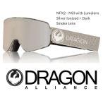 ショッピングASIAN DRAGON ASIAN-FIT 18 ドラゴン ゴーグル GOGGLE NFX2 MILL SILVER LUNALENS
