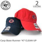 ショッピングBrand 47BRAND/47ブランド Carp Base Runner '47 CLEAN UP Red×Navy logo BSRNR05GWS 広島東洋カープ アジャスタブル プロ野球帽子