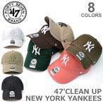 47BRAND/47ブランド CLEAN UP B-RGW17GWS NEW YORK YANKEES クリーンナップ ウォッシュ アジャスタブル カジュアル
