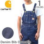 カーハート carhartt R08 DENIM BIB OVERALL デニム ビブオーバーオール オーバーオール サロペット ユニフォーム 大工 作業着 つなぎ