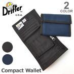 Drifter / ドリフター 財布 3つ折り コンパクト ナイロン WALLET 軽量・丈夫素材 小銭入れ カードケース サイフ ギフト プレゼント メール便発送可