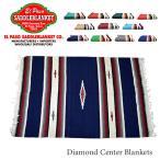 エルパソサドルブランケット【el paso saddleblanket】Diamond Center Blankets ブランケット ラグ インテリア ネイティブ柄 アジアン雑貨