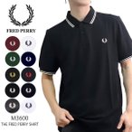 フレッドペリー【FRED PERRY】M3600 THE FRED PERRY SHIRT ポロシャツ 半袖 ロゴ メンズ シンプル 定番【ネコポス発送送料無料】