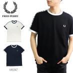 フレッドペリー【FRED PERRY】M6347 TAPED RINGER T-SHIRT リンガーTシャツ 半袖 TEE Tシャツ ロゴ メンズ シンプル【ネコポス発送送料無料】