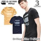 ジースター ロウ【G-STAR RAW】Drillon Slim T-Shirt D04455.1141 メンズ トップス 半袖 Tシャツ