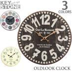 キーストーン KEY STONE オールドルック ウォールクロック OLD LOOK WALL CLOCK 時計 掛け時計 ヴィンテージ おしゃれ アンソロポロジー風