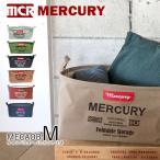 マーキュリー【MERCURY】キャンバスオーバルバケツ M MECAOBM Canvas Bucket アメリカン雑貨 洗濯カゴ 収納 おもちゃ箱 折