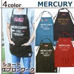 マーキュリー/MERCURY ショートエプロン ワーク デニム MESAWO2 カフェ キッチン エプロン ※1枚までネコポス可