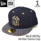 NEW ERAニューエラ /MLB 59Fifty All-Star Game Cap 59FIFTY ニューヨーク・ヤンキース ネイビー × グレー 帽子 メンズ レディース 11336788