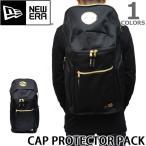 ニューエラ NEW ERA CAP PROTECTOR PACK BLACK/GOLD キャッププロテクターパック 帽子 メンズ  CAP バック リュック キャップ 収納 バックパック