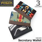 ペンドルトン PENDLETON GE229 ネイティブ柄 2つ折り 長財布 Secretary Wallet サイフ カード