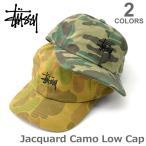 ステューシー/STUSSY 131715 JACQUARD CAMO LOW CAP キャップ ストリート スチューシー ステューシー stussy