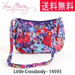 ヴェラブラッドリー vera bradley 送料無料 Little Crossbody キルティング バック ベラブラッドリー レディース 14593 297 Impressionista