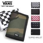 バンズ/VANS SLIPPED WALLET 財布 3つ折り チェック プレゼント カードケース ID マジックテープ 誕生日