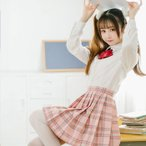 ショッピングコスプレ 【即日発送】 ハロウィン コスプレ スカート 制服 女子高生  ハロウィン 衣装 costume577