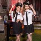 コスプレ ハロウィン コスプレ コスチューム一式 5点セット ポリス  ハロウィン 衣装 costume722