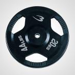 ラバープレート 20.0KG / 筋トレ 筋肉 ダンベル ベンチプレス 大胸筋 エクササイズ家トレ 自宅トレーニング 家庭用
