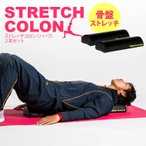 ストレッチコロン(ハーフ)2本セット / BODYMAKER ボディメーカー 腹筋 トレーニング ストレッチ エクササイズ 骨盤ダイエット
