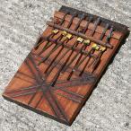 アフリカ タンザニア産 トイカリンバ (ミニサイズ) 親指ピアノ