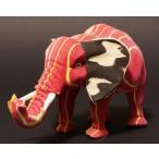 アフリカ ケニア産リサイクルエレファント 置き物 人形 オブジェ 象 エコ