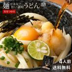 讃岐うどん 麺が本気で旨い ご当地うどん お試しセット 4人前 お取り寄せ 送料無料  (特産品 名物商品)