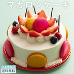 誕生日 ケーキ アニバーサリーケーキ マカロンケーキ 5号 [ 記念日 快気祝い パーティー  お土産 同窓会 ケーキ バースデーケーキ 誕生日 ]