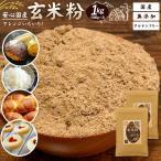 雑穀 送料無料 国産 玄米粉 1kg(500g×2) [ 雑穀 国内産 玄米 うるち米 粉末 ] 送料無料 訳あり 食品 お試し