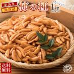 ポイント消化 (送料無料) 訳あり 柿の種 1kg (500g×2)   [ かきの種 業務量 大容量 メガ盛り 訳アリ かきのたね タネ]1kg