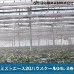 住化農業資材 灌水チューブ 暑熱対策 頭上潅水 ミストエース20ハウスクール04L WB8342 100M×2巻 70mまで均一散水 潅水チューブ 灌水チューブ 散水