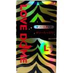 オカモト LOVE DOME(ラブドーム) タイガーコンドーム Lサイズ 12個入☆ゆったりLサイズのコンドーム!