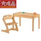 【完成品】 ベビー キッズ 子ども用家具 インテリア 子供机 勉強机 学習机 学習椅子 デスク チェアー 2点セット
