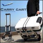 ハンドキャリー キャリーカート キャリーバッグ 折り畳み 折りたたみ式 台車 軽量 荷台 ハンドトラック コンパクト 約50kg 旅行 トラベル スーツケース