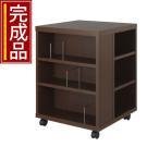 【完成品】 木製 文庫本 書棚 本棚 人気 おしゃれ オープンラック 収納 家具