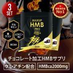 HMB サプリメント チョコレート プロテイン 筋トレ HMB2000mg スポーツ トレーニング 公式ショップ バルクアップHMBプロ(チョコ味)(3ヶ月分)