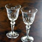 ボヘミア(Bohemia) ワイングラス ペアセット SVL-900/2 #bhm005456