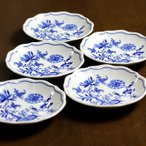 カールスバード(Carlsbad) ブルーオニオン 11cm小皿5枚組  CB016#crb000069