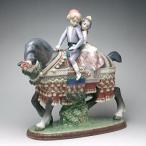 リヤドロ(Lladro リアドロ 陶器人形 置物) 少年と少女 少年少女の行進#ldr-1489