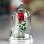 ショッピングスワロフスキー スワロフスキー 置物(Swarovski) DISNEY 魔法のバラ (美女と野獣)#5230478