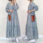 マキシワンピース レディース 40代 ロングワンピース キレイめ 透かし彫りワンピース 大きいサイズ 韓国風 30代 上品