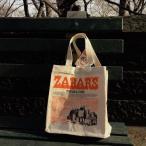 ZABAR'S ゼイバーズ コットンエコバッグ  Sサイズ  アメリカエコバッグ ニューヨーク クリックポスト発送