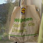 ドイツ【LiDL】 コットン エコバッグ  ドイツスーパーマーケット