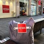 オランダ【HEMA】折りたたみ エコバッグ シンプル