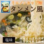 ミニノンカップ麺 タンメン風 塩味